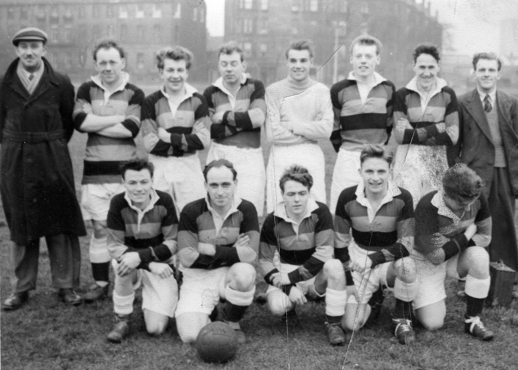Henry Robbs Football Team c.1958