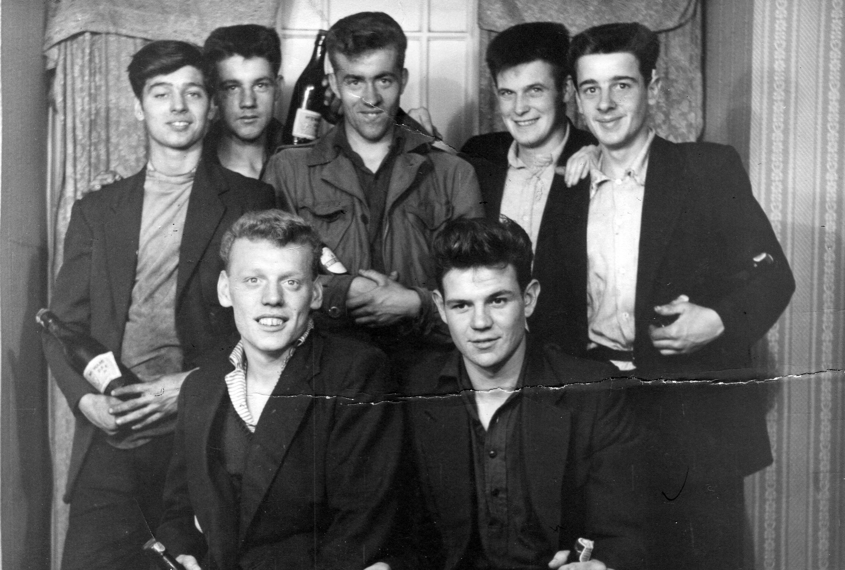 Young Apprentices At Henry Robb's Shipyard, July 1958