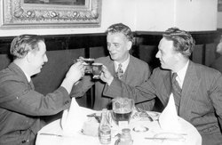 Drinking A Toast With Friends 1938