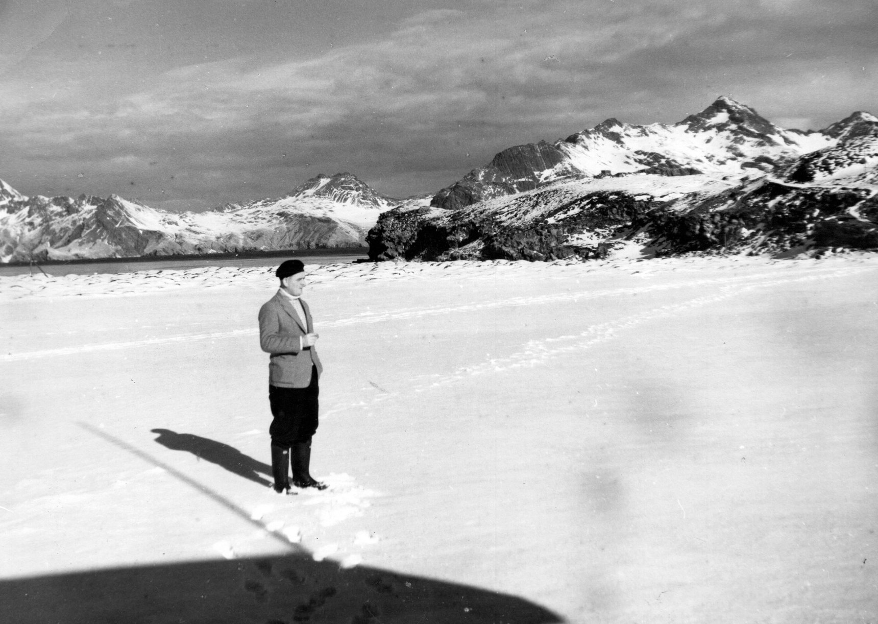 "Second Engineer On The Salvesen Operated ""SS Southern Opal"" At The Antartic 1957"