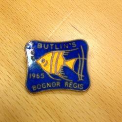 Butlin's Badge