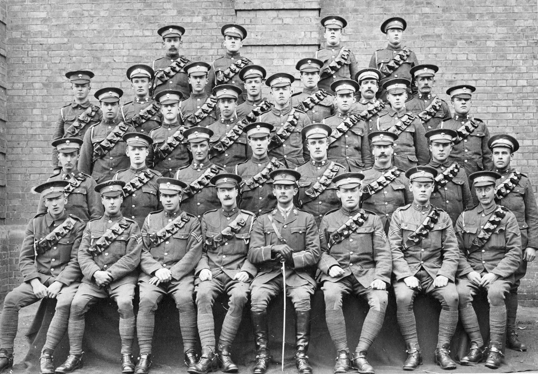 3/1st Lothians And Border Horse Taken Before Departure From Aldershot For Active Service, 3rd June 1916