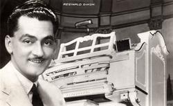 Postcard Of Organist Reginald Dixon 1930s