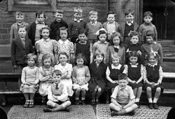 St Bernard's Primary School Class Portrait 1947