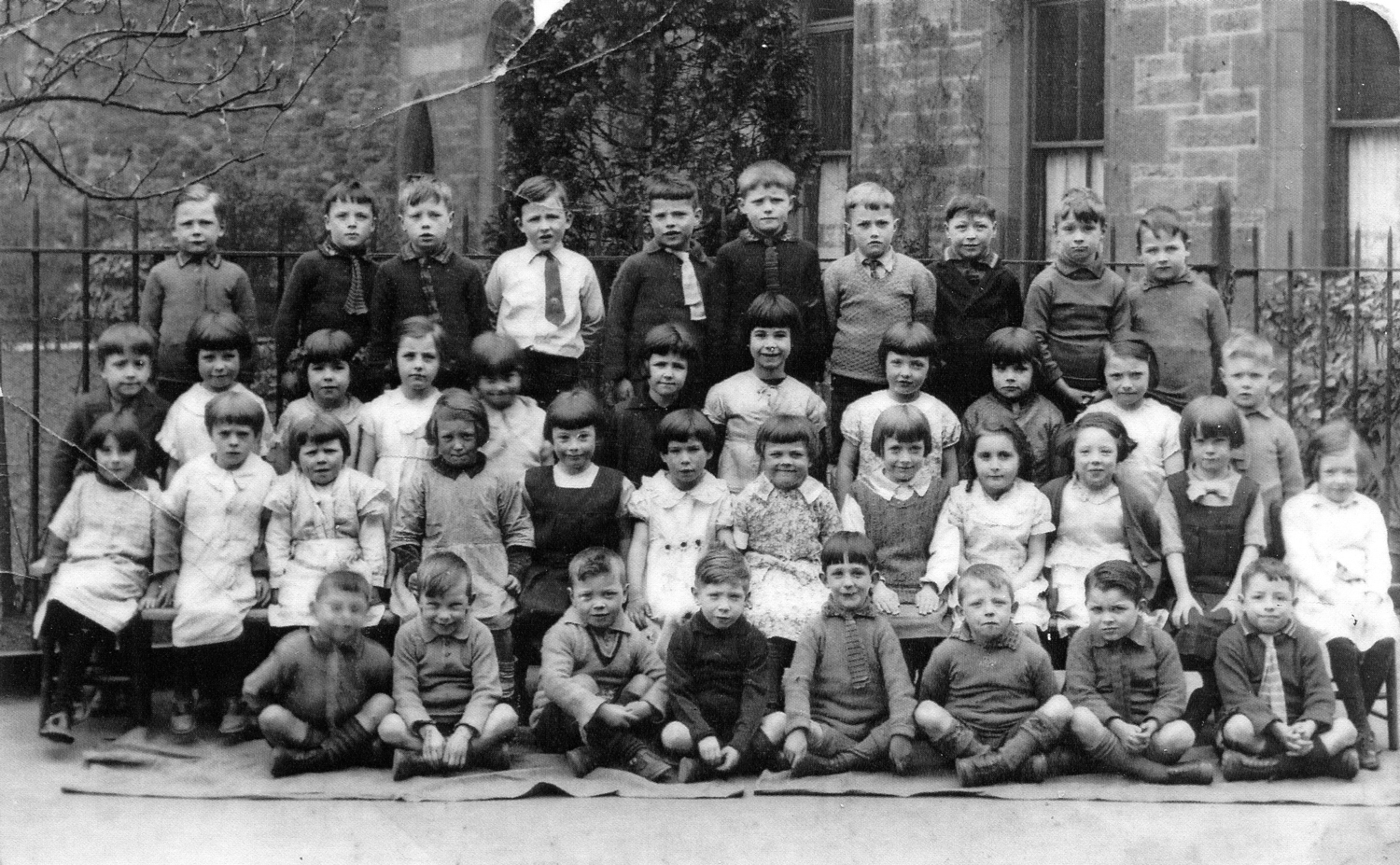 St Mary's Star Of The Sea Primary School Class Portrait 1933