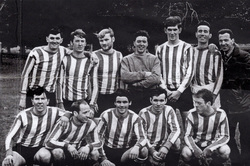 Crewe Athletic (Pilton Area) Football Club Team c.1970