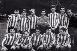 Crewe Athletic (Pilton Area) Football Club Team c.1970