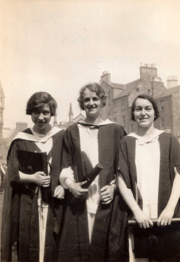 Students On Graduation Day 1923