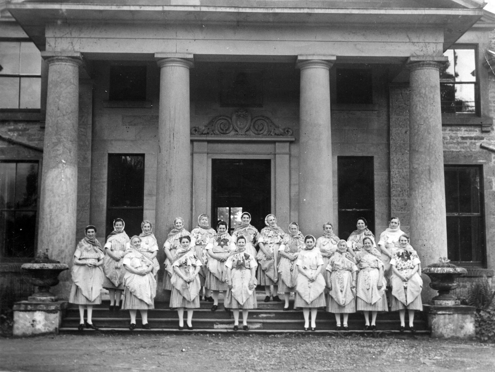 Newhaven Fishwives Choir Visit To Perth 1930s