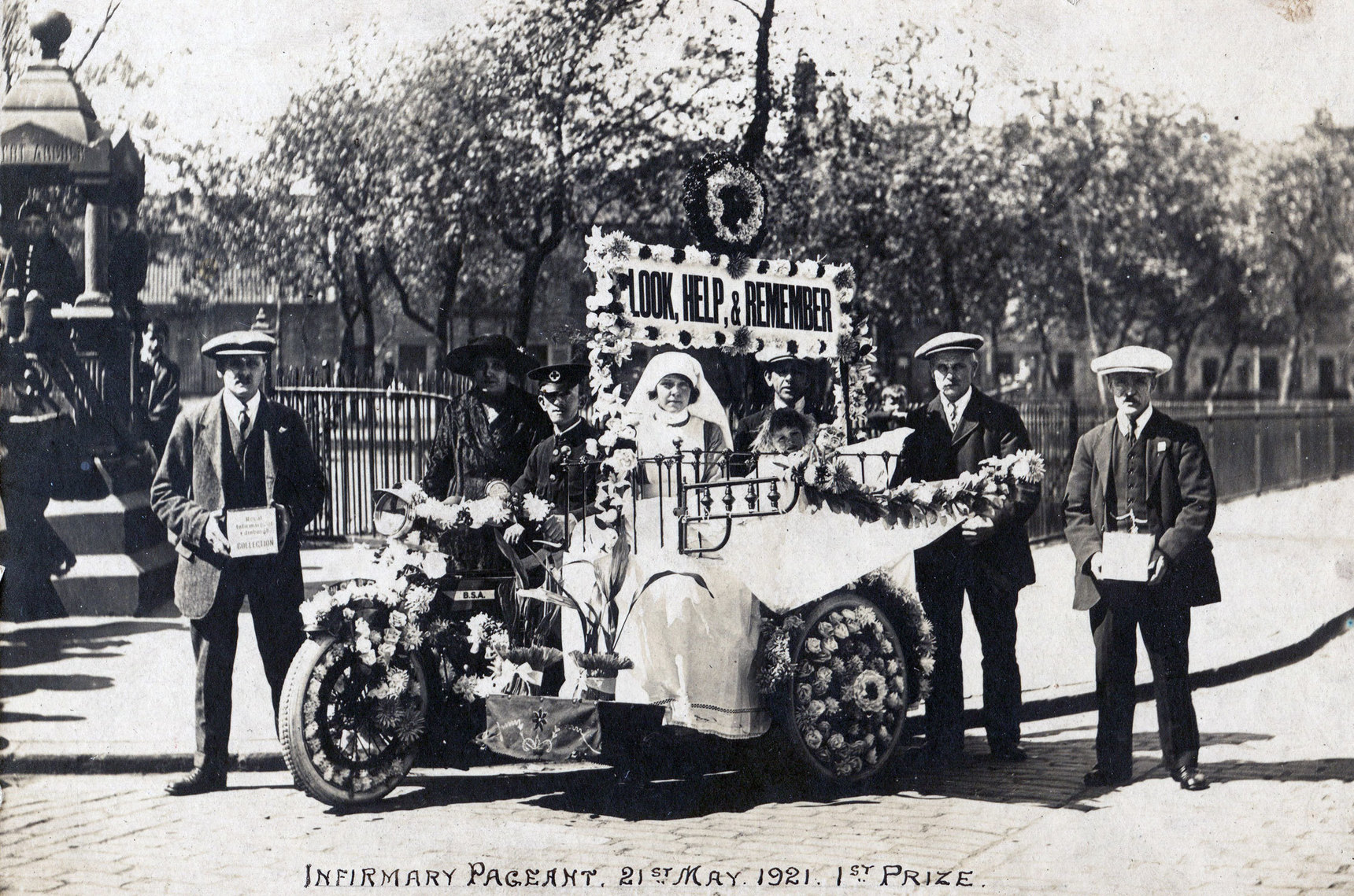 Edinburgh Infirmary Pageant First Prize, 21 May 1921