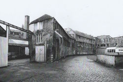 Pictured here in Damside is Leggets Tannery. Aged 9, I sometimes