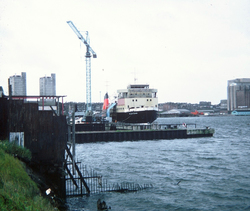 The Caledonian MacBrayne Operated MV Claymore In For Service At Henry Robb's Shipyard, 1980s