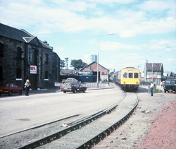 Last Passenger Train Between Waverley Station And Granton Square c.1980