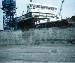 """Henry Robb's Last Shipbuilding Contract The Ferry """"St Helen"""" c.1983"""
