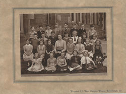Pictured here is my Dean School 1954 Primary Class Photo with 27 Children and our Teacher.