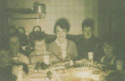 That's me in the centre attending Reggie Young's 5th Birthday Party in his house