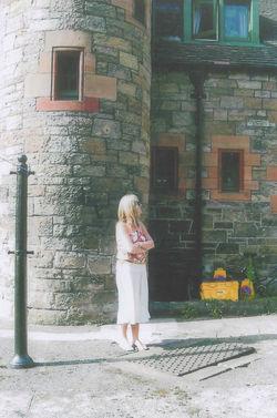 2004 - My daughter Gillian beside