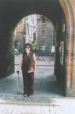 2004 - I loved going down to the Dean Village on special occasions, this time
