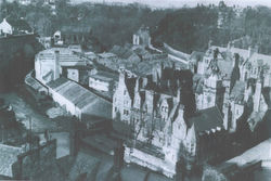 As the Dean Village looked in 1962, with the following Tenement numbers