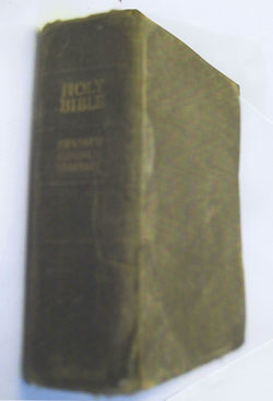 My Dad (Gordon Cameron Featherstonehaugh) gave me this Bible when I was 11 years of age