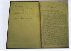 """My Dad wrote on the inside sheet """"To Gail from Dad March 10th 1956 with Best Wishes          Wishes"""""""