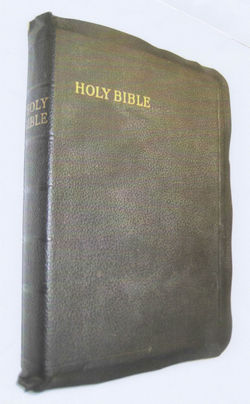 This Bible was given to my Husband Robert & I on our Wedding Day