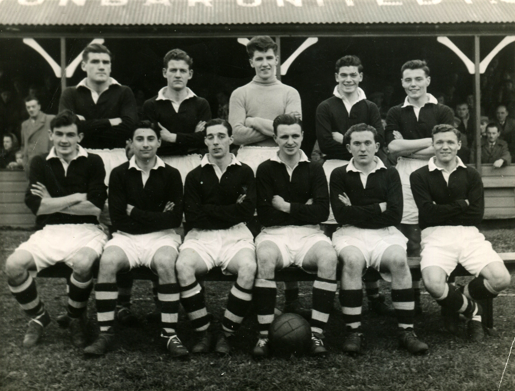 Rosewell Rosedale Football Club Team c.1954