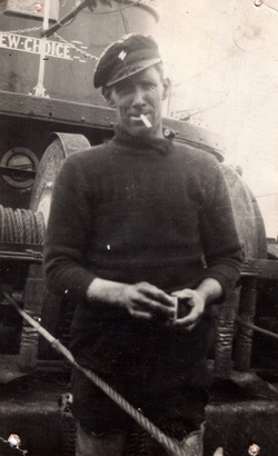 "Skipper Of The ""New Choice"", late 1930s"