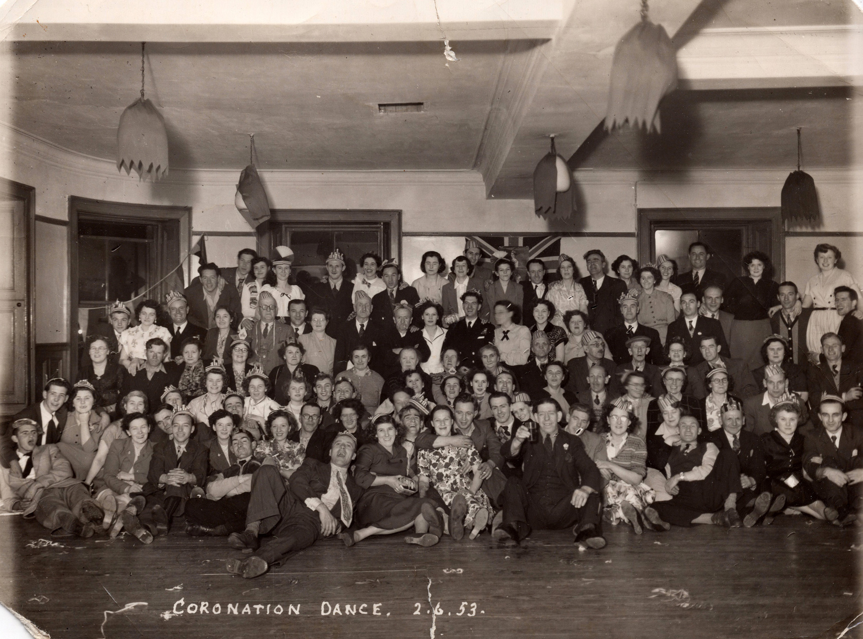 Coronation Day Dance, 2nd June 1953
