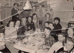 Women Having Tea At Stanwell Street Nursery 1950s