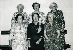Group Of Elderly Sisters 1956