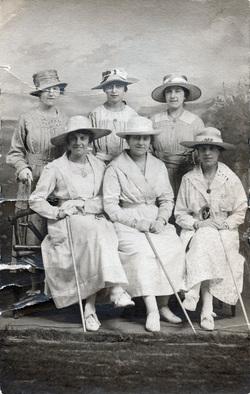 Studio Portrait Group Of Women 1910s