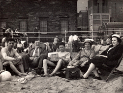 Relaxing On Deckchairs At Portobello Beach, July 1959