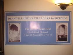 Ian Ridgway and I attend the 3rd Dean Village Reunion.
