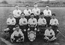Granton Primary School Football Team 1951