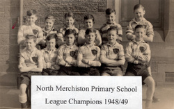 North Merchiston Primary School Football Team 1949
