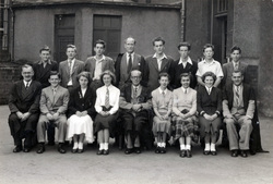 Tynecastle Senior Secondary School 5th Year Class c.1953