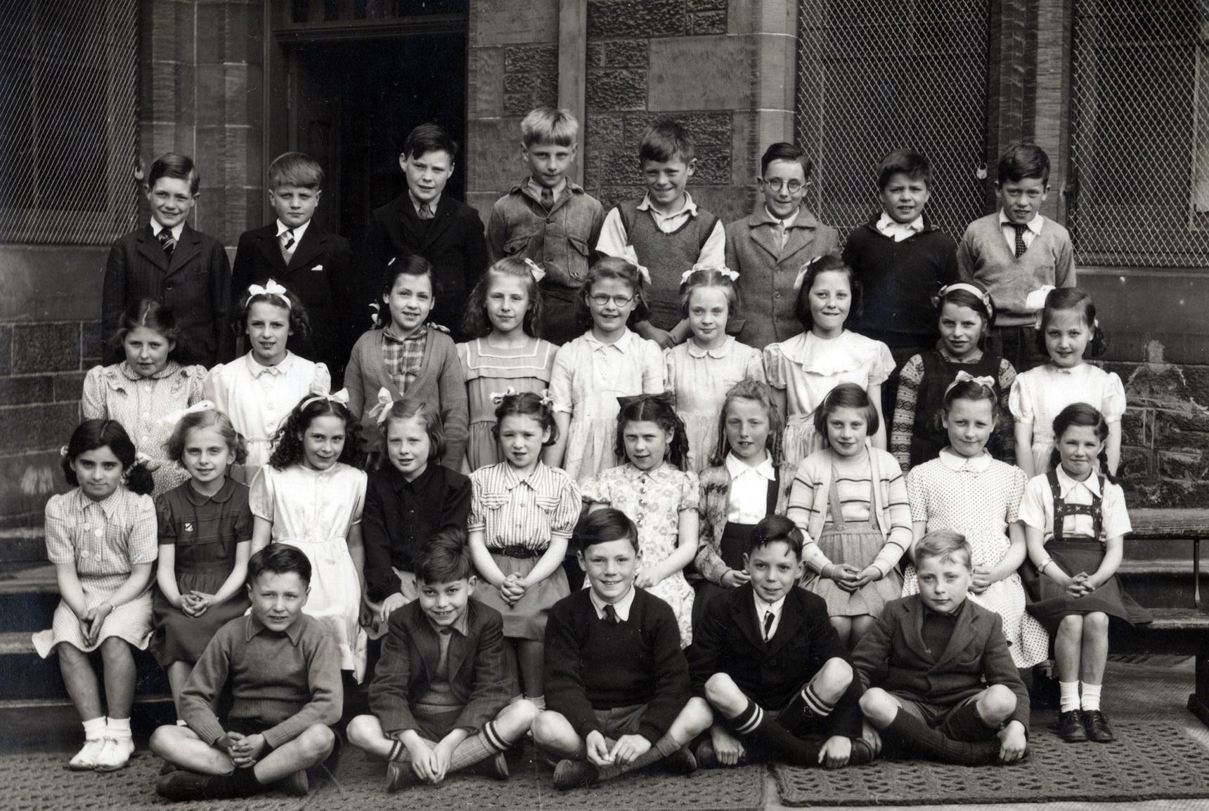 North Merchiston Primary School Class Portrait c.1949
