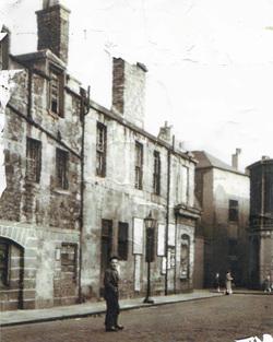 Pedestrian Standing In St Andrew Street 1950s