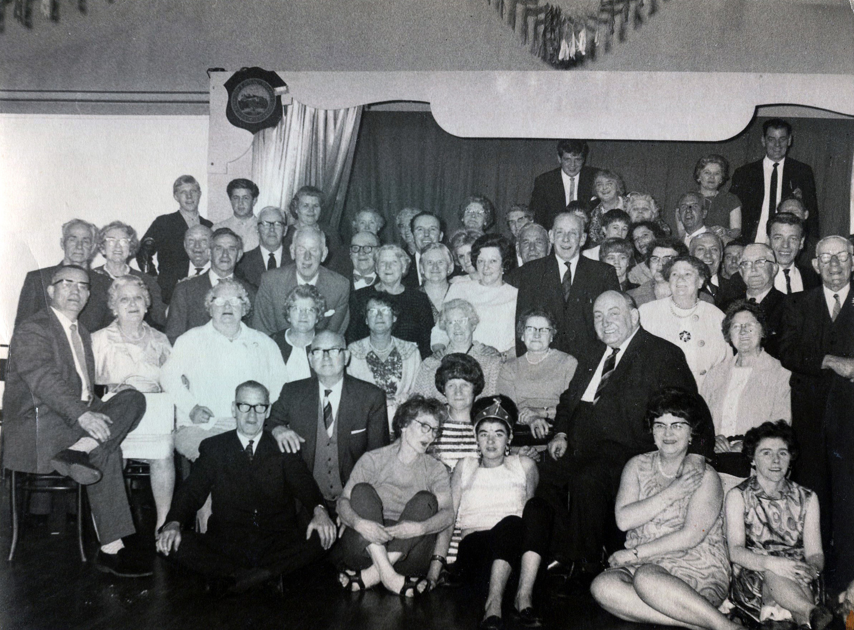 Leith Pensioners Party 1967