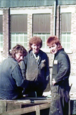 Apprentices At Henry Robbs Shipyard, early 1980s