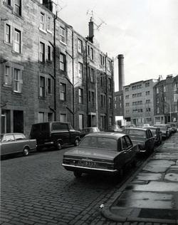 Burlington Street Looking On To Bonnington Road, mid-1970s