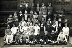 Couper Street School Class Portrait c.1940