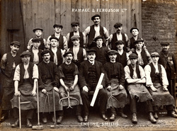 Engine Smiths Of Ramage & Ferguson Ltd Shipbuilders, 14th Nov 1911