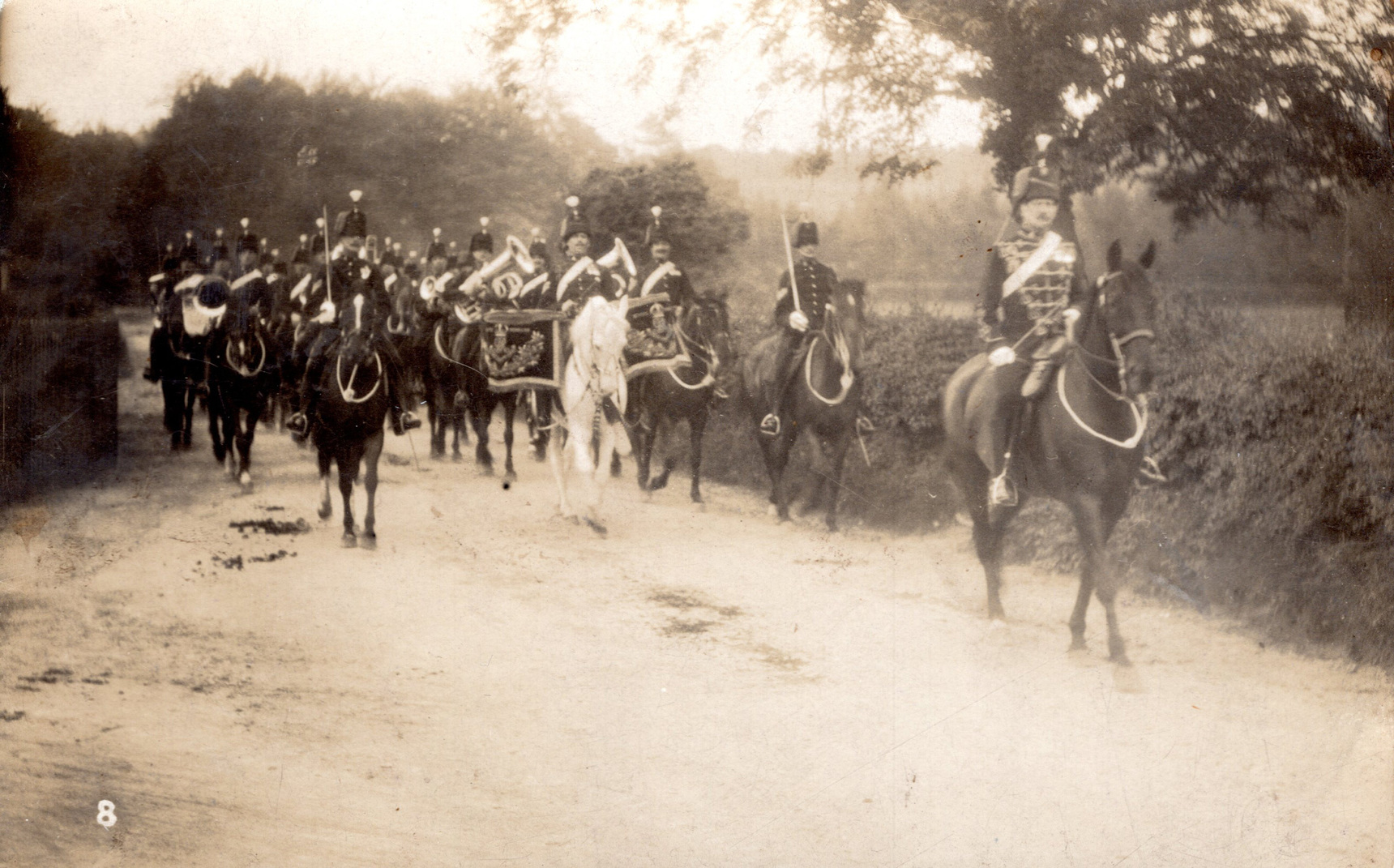Band Of The 18th Queen Mary's Own Hussars 1917