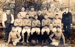 Leith Thistle Football Club Team 1908