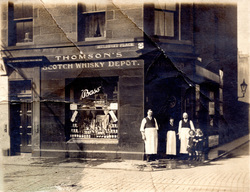 Off-Licence And Store At Mulberry Place 1900s