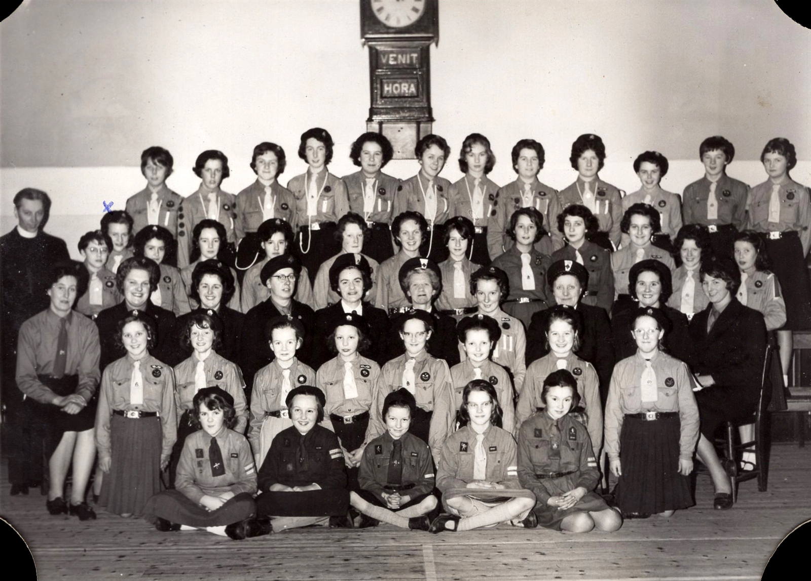 North Leith 42nd Girl Guides c.1960