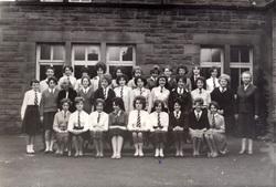 David Kilpatrick School Class Portrait c.1964