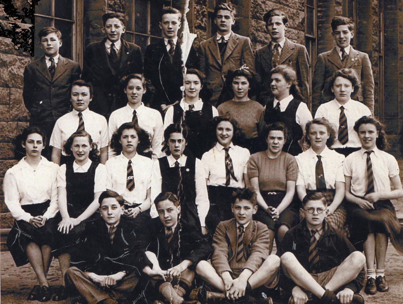 Boroughmuir High School Class 3A6 1947